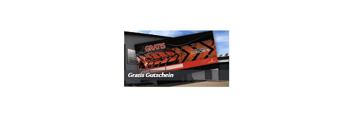 GRATIS GUTSCHEIN -
