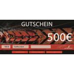 500,- Euro - BE-Performance® Gutschein